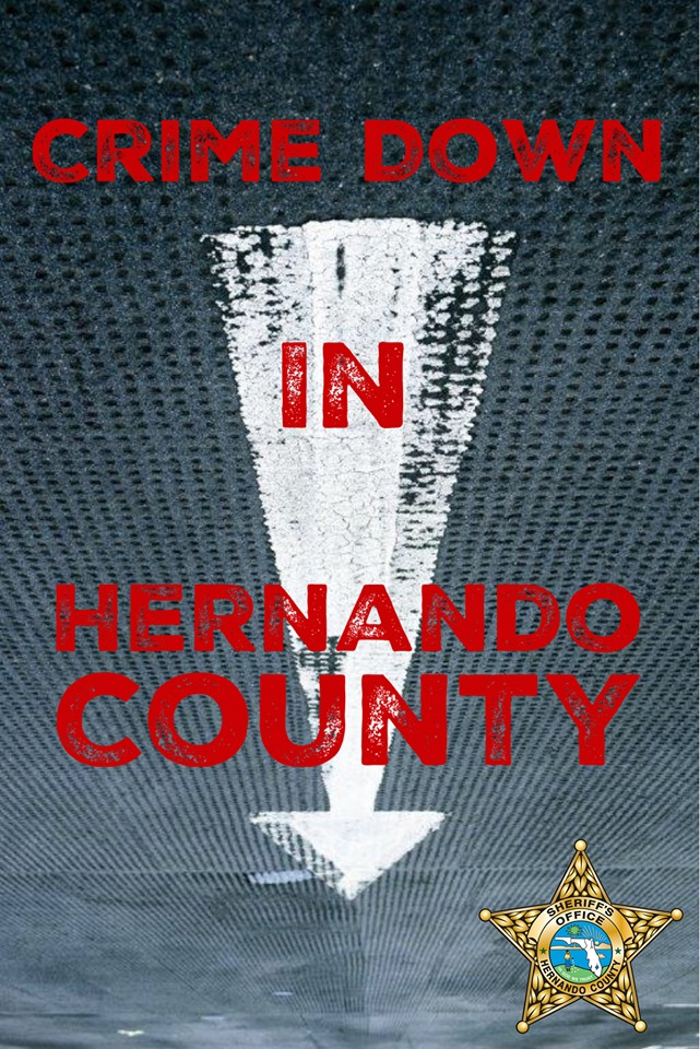 Crime Down in Hernando County by 11.4%