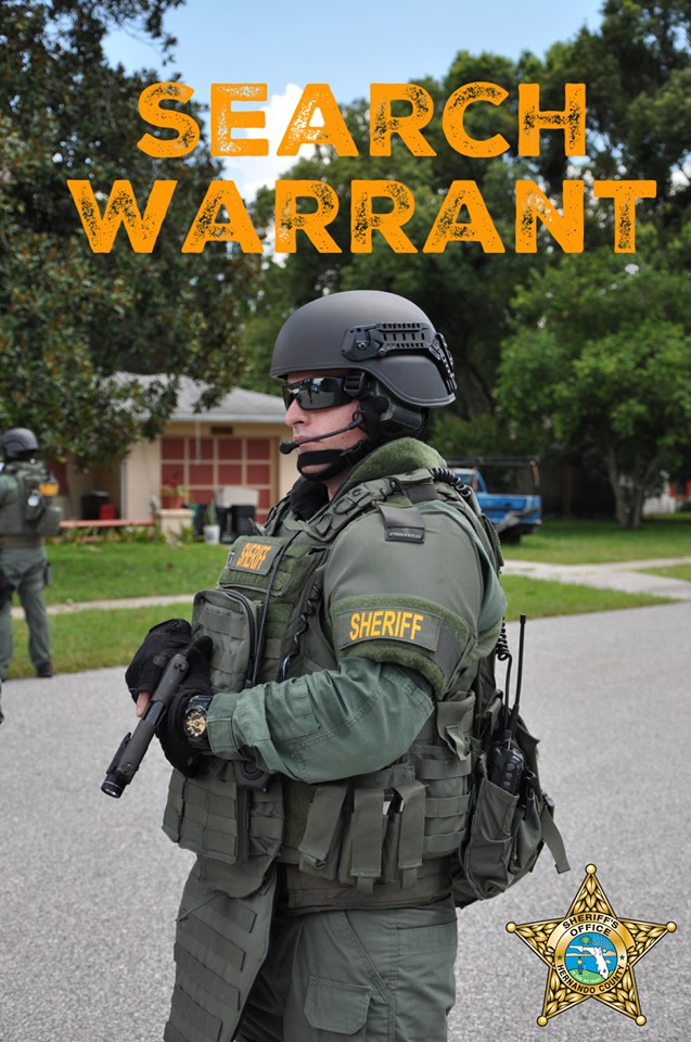 Vice and Narcotics Search Warrant - 13263 Lawrence Street
