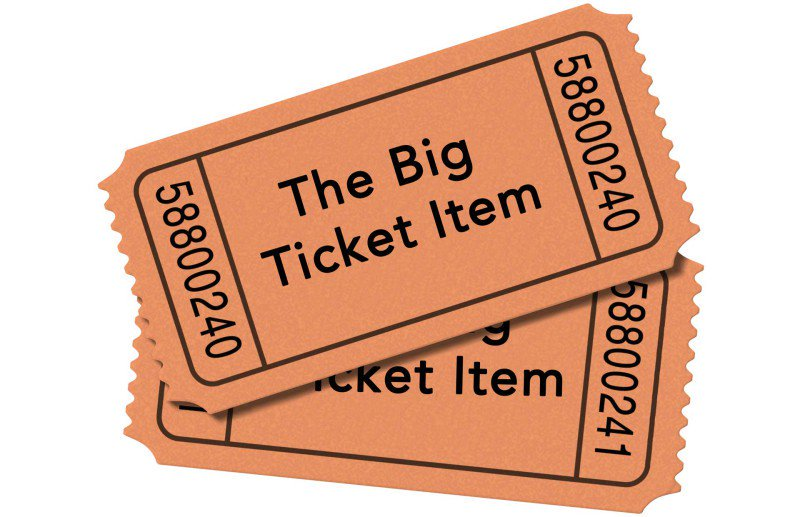 Big Ticket Items to Save Up For