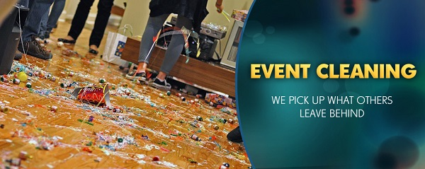 Here Why You Should Hire Professional Cleaning Services After An Event