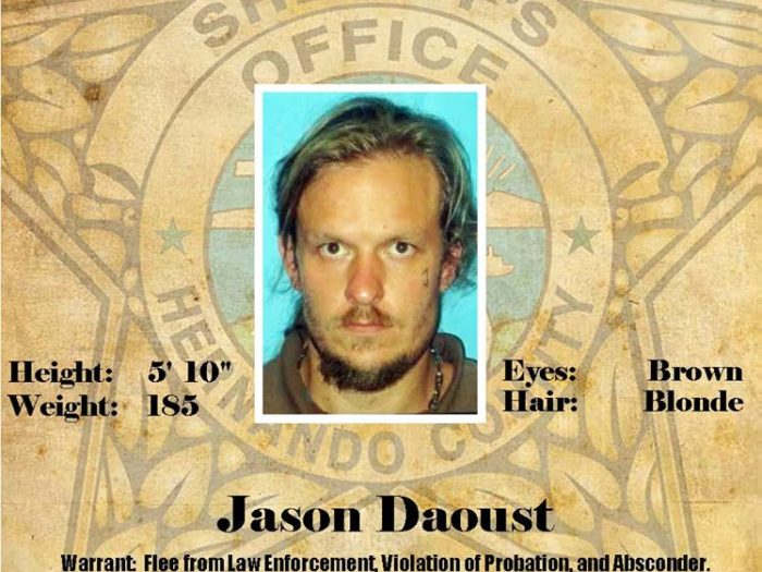 Probation & Parole Wanted Person - Jason Daoust